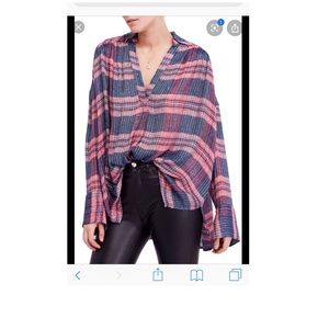 Free people fearless love tunic small NWT
